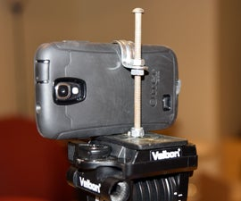 Quick N' Dirty Phone Tripod Mount