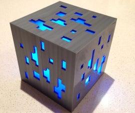 Minecraft Diamond Ore Lamp (3D Print)