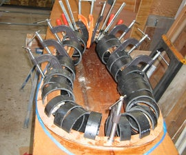 Homemade Clamps From Plastic Pipe