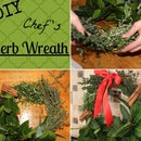 DIY Chef's Herb Wreath