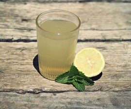 Easy Lemon Peel Juice