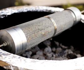 Charcoal Grill Coffee Roaster