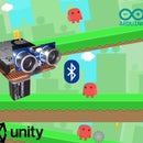 Run Jump Game Using Unity, BT Arduino, Ultrasonic Sensor
