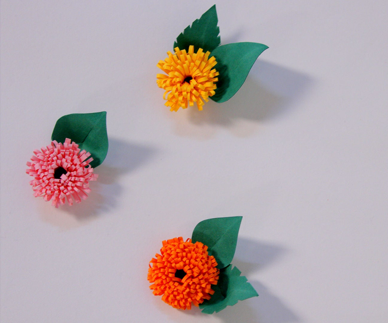 How To Make Quilled Fringed Flowers Using Paper Art Quilling Diy