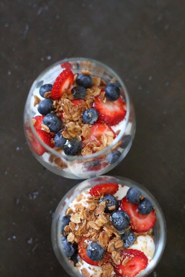Yogurt Granola Parfaits