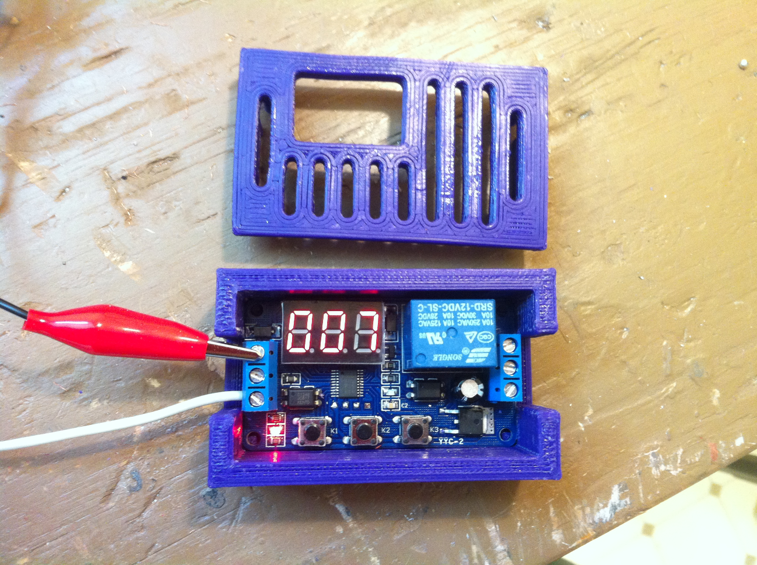 Picture of Wire Up the Digital Timer & Solvent Pump