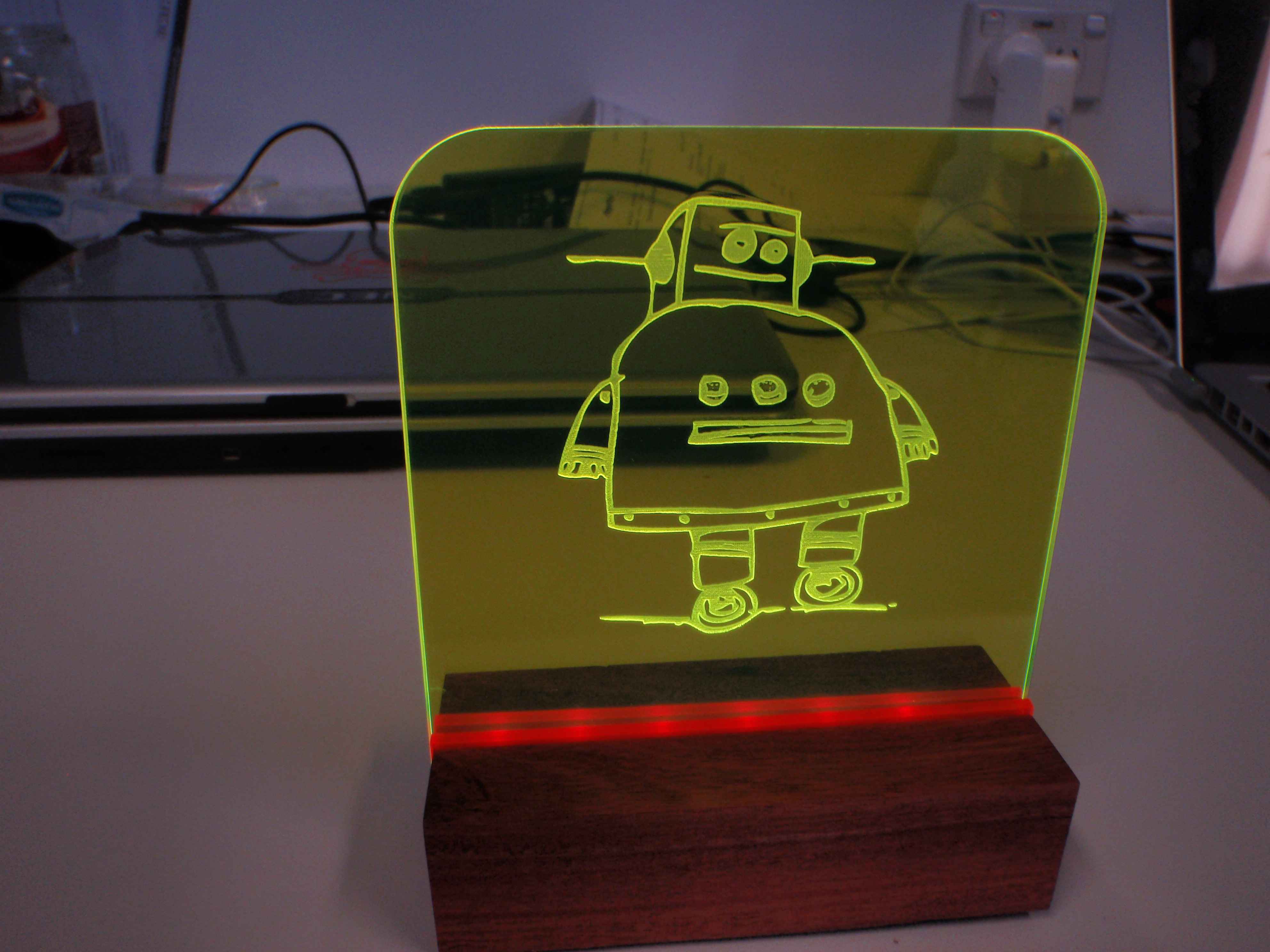 Picture of Fake Neon Sign