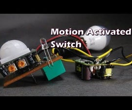 Motion Activated Lamp Switch