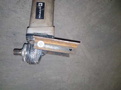 Make Arm for Angle Grinder Machine