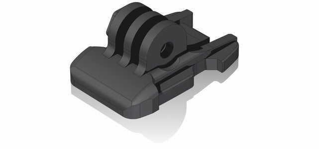 GoPro Quick Release Buckle [3D Printed Replacement Parts]