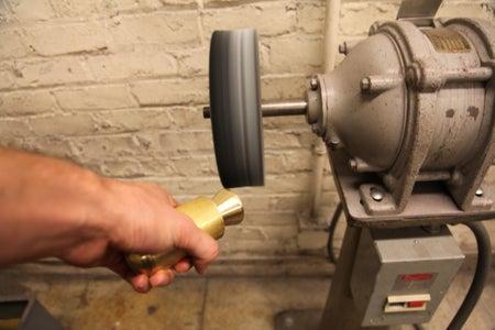 Machine Top Brass Handle Piece