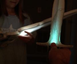 Glowing Foam Replica of ANY Sword