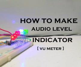How to Make Audio Level Indicator