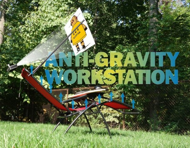 Picture of Anti-Gravity Workstation (with Standing Option)