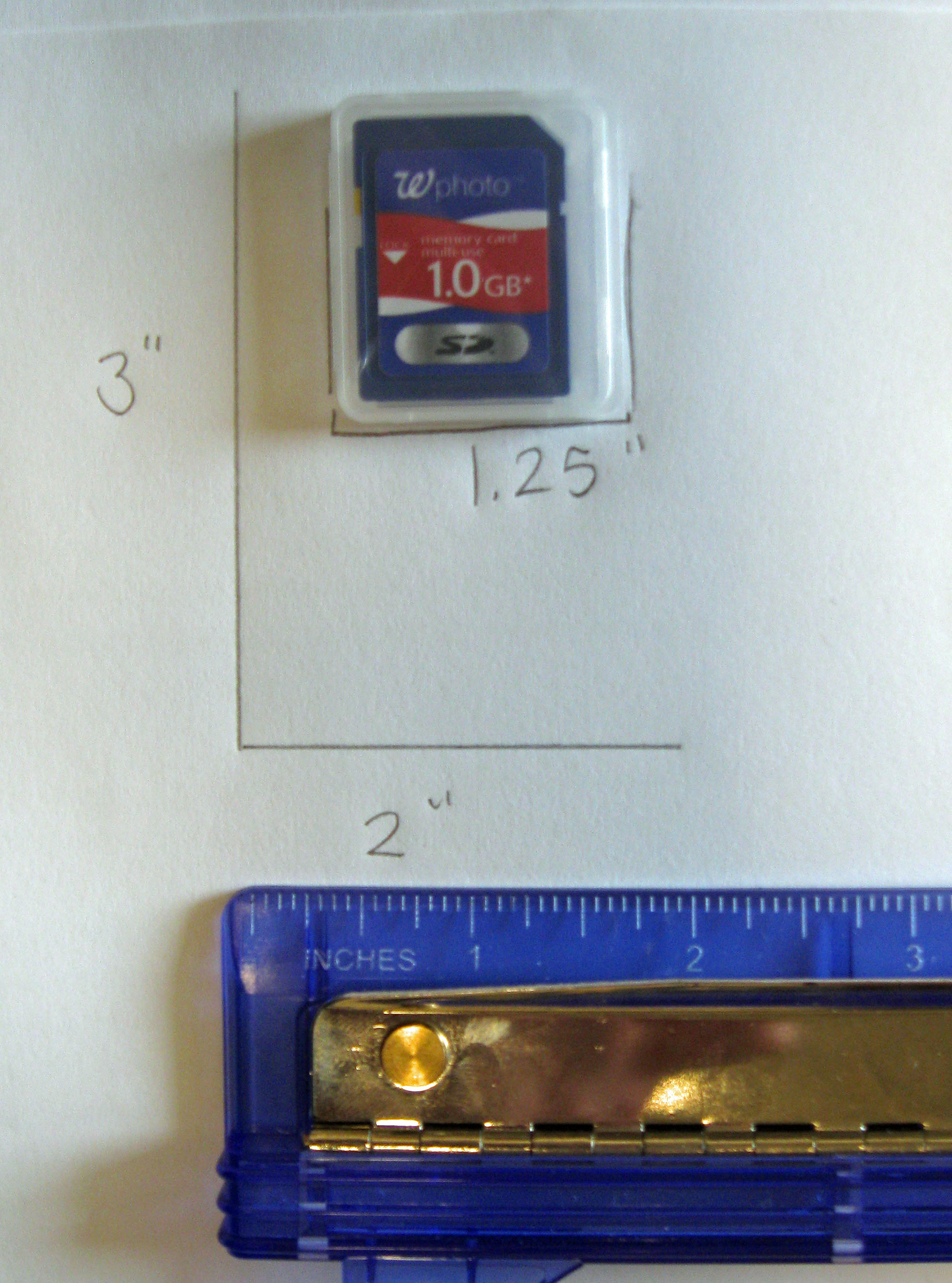 Picture of Make the SD Card Holder