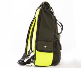 Rolltop Commuter Backpack