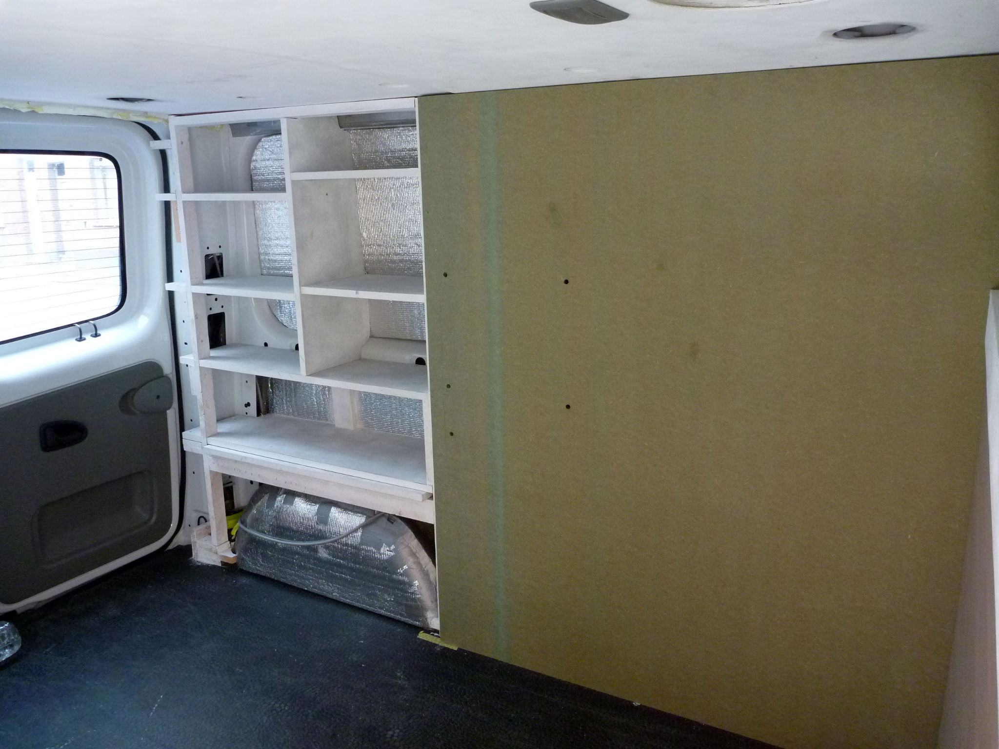 Picture of Fitting Stuff in / Panelling / Paint Some More