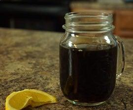 Homemade Vanilla & Orange Infused Cold Brew