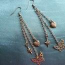 Butterfly Chain Earrings