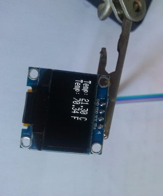 EASY Arduino OLED Sensor Data Display