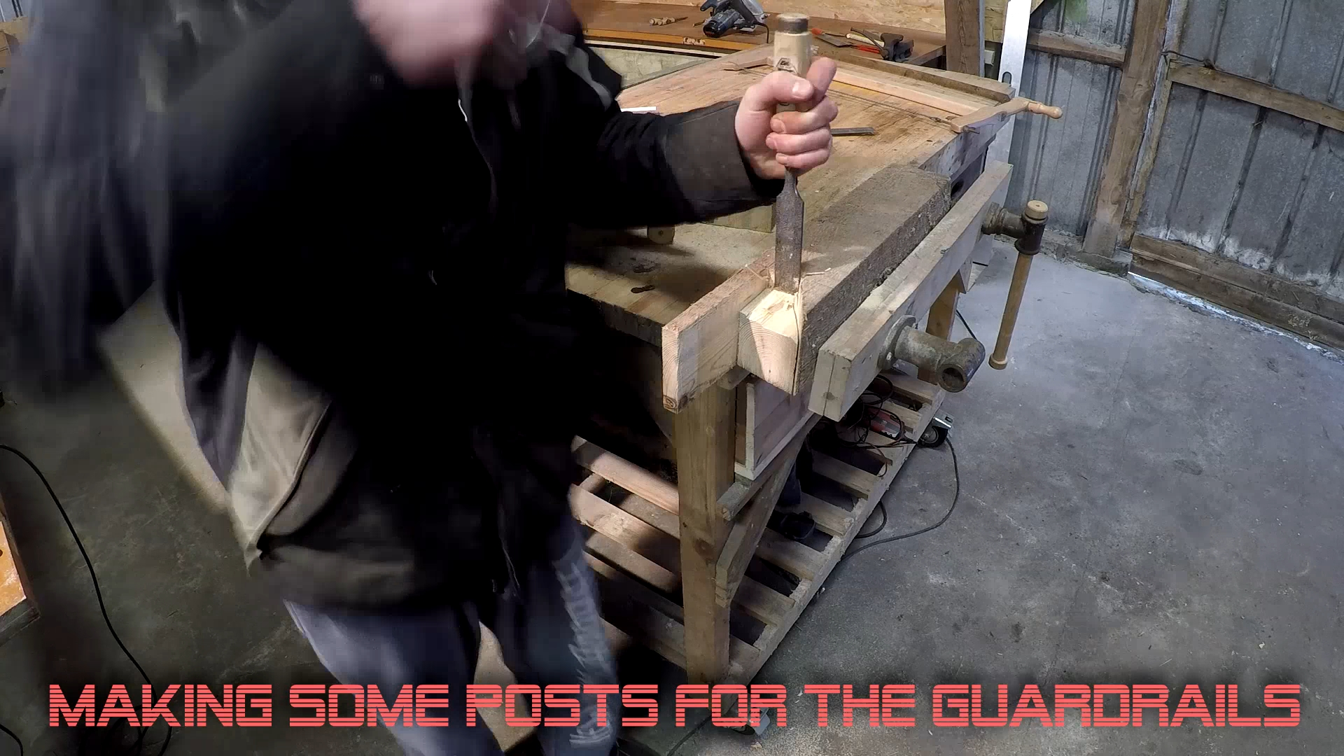 Picture of Make Posts for the Guardrails
