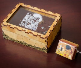 Gustav Klimt Inspired Jewelry Box