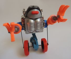 "Roboto, the Wobbling Toy Robot (evolution of Randofo's ""Wobbler"")"