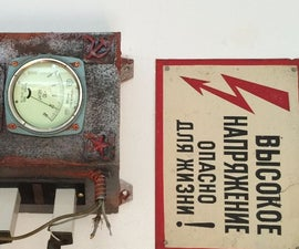 OLD SOVIET SWITCH BOX