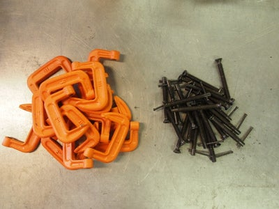 Acquire and Dismantle C-Clamps