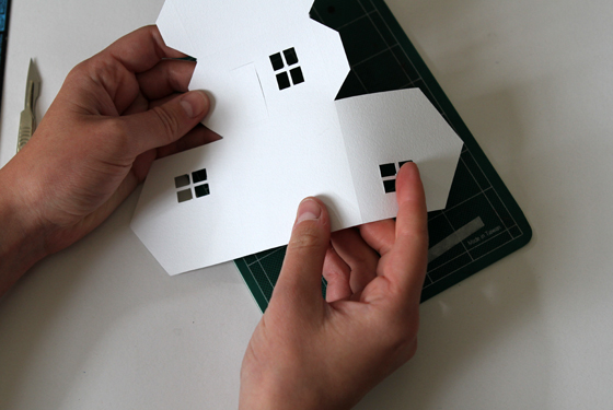 Picture of Step 4: Fold Up Your Template