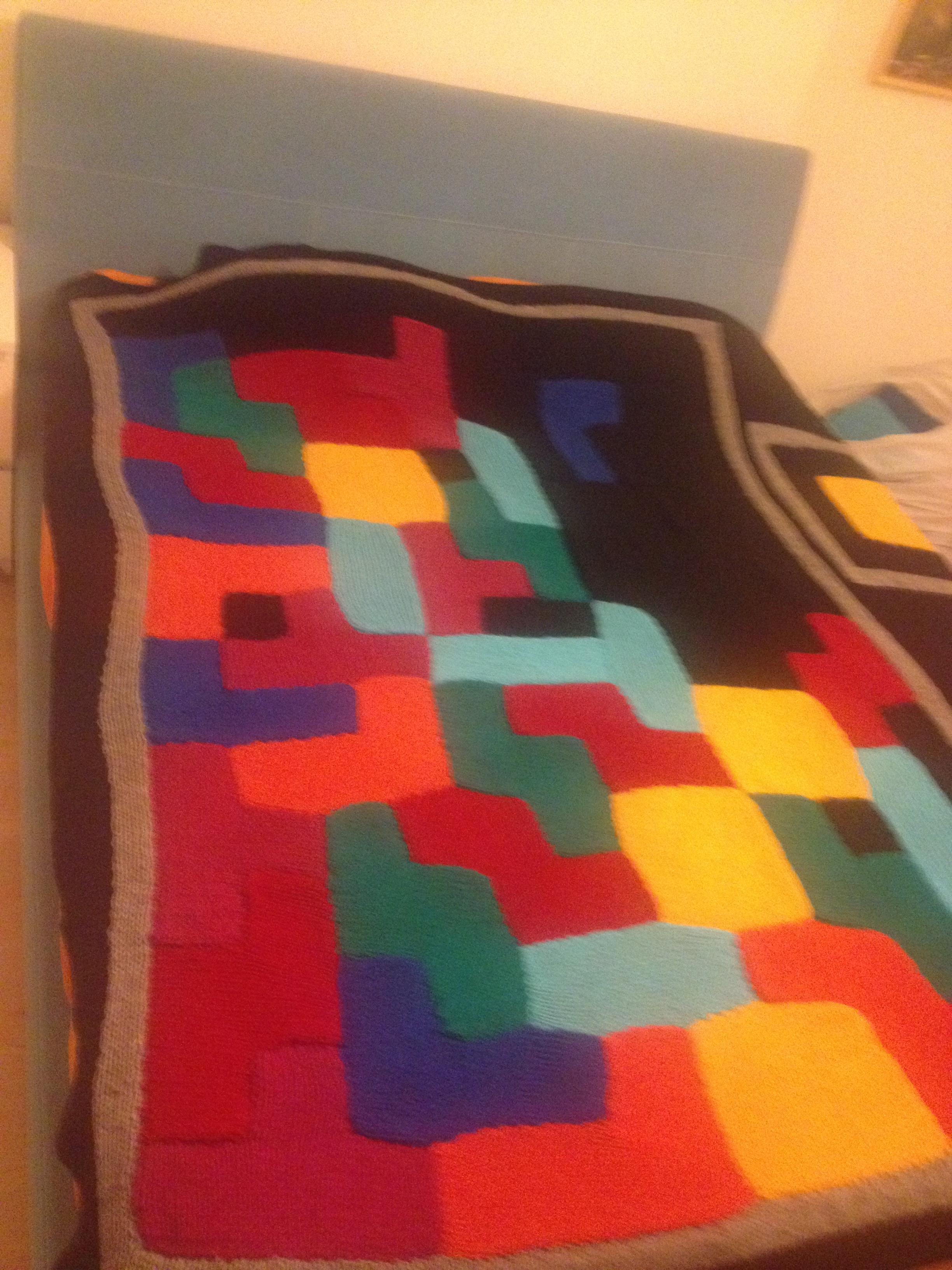 Picture of Tetris Blanket