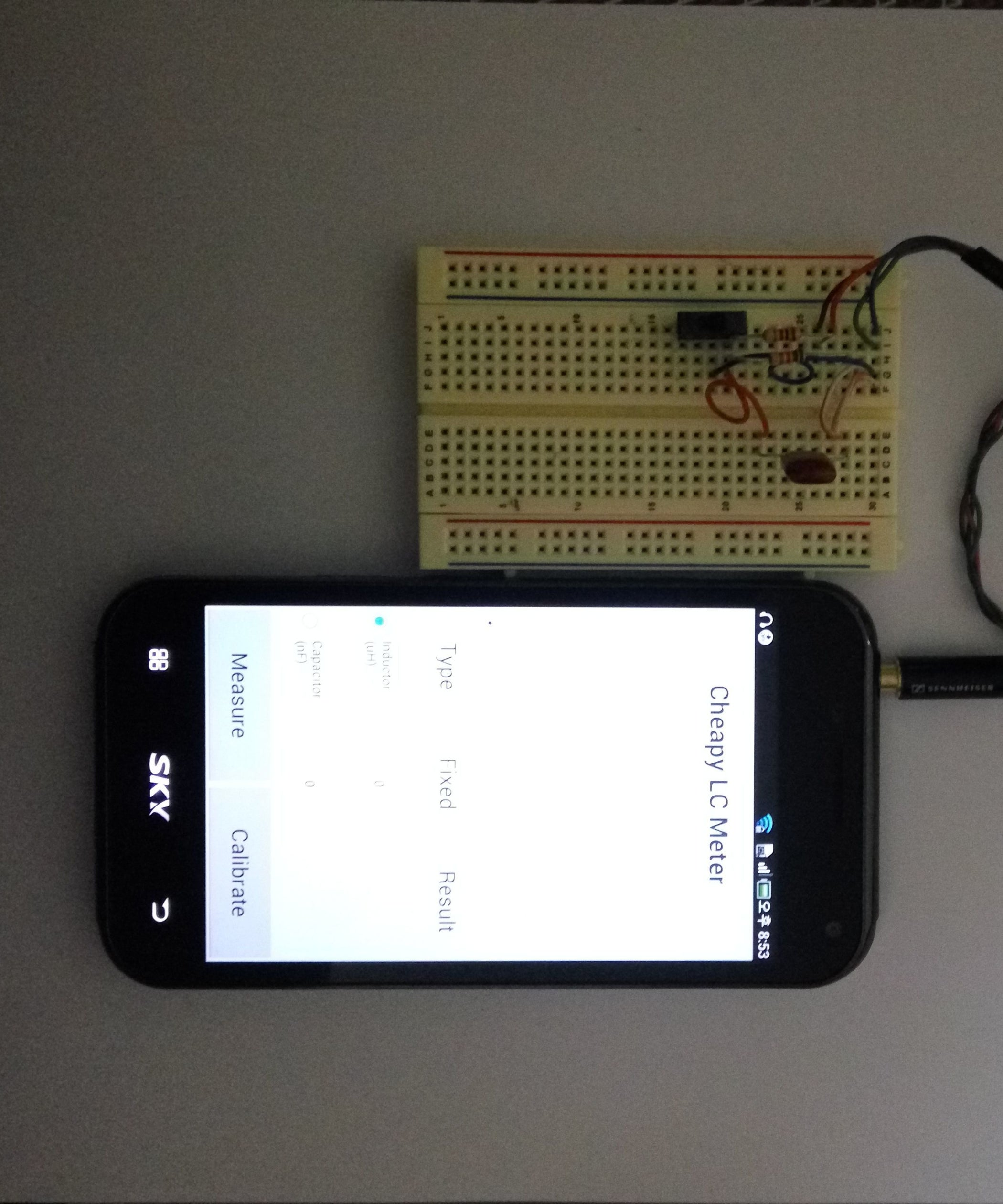 Simple And Useful Lc Meter Using Android Application 4 Steps Based On Pic16f84a