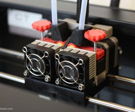 Adjustable Extruder Drive Block Upgrade for Replicator 2X