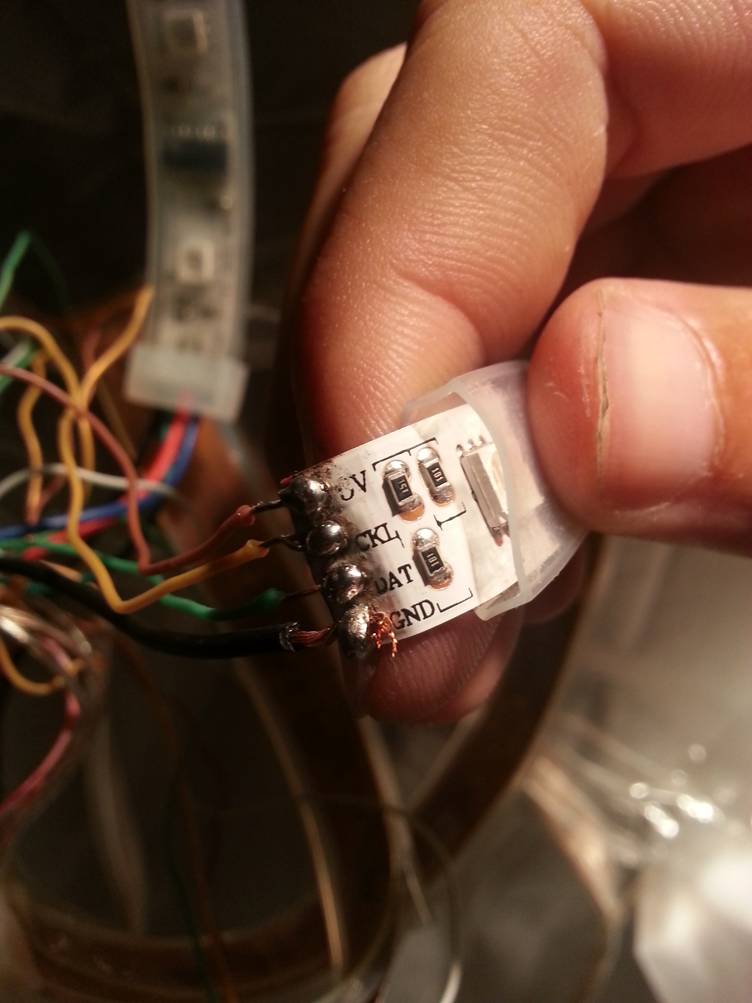 Picture of CONNECTIONS and WIRING
