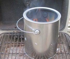 DIY Charcoal Chimney