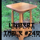 Heirloom Quality Quartersawn White Oak Limbert Table #240 w/ Authentic Ammonia Fumed Finish