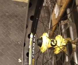 """Homemade """"huck Norris '' for Mountain Bike"""