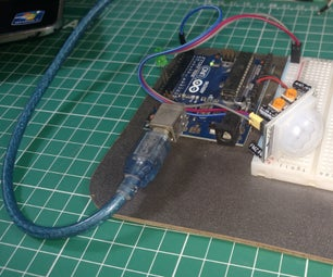 PIR Motion Sensor With Arduino