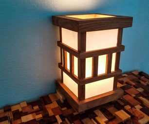 Japanese Style Desk Lamp