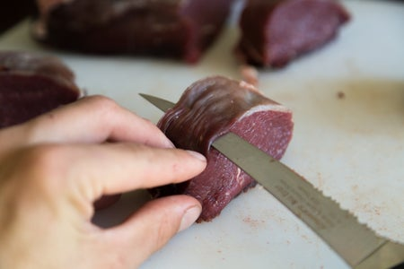 Cleaning the Meat