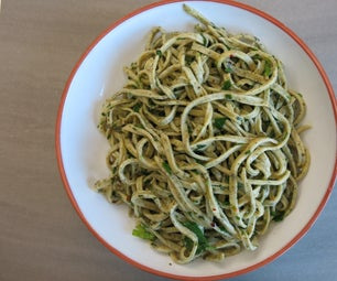 Fresh Seaweed Pasta