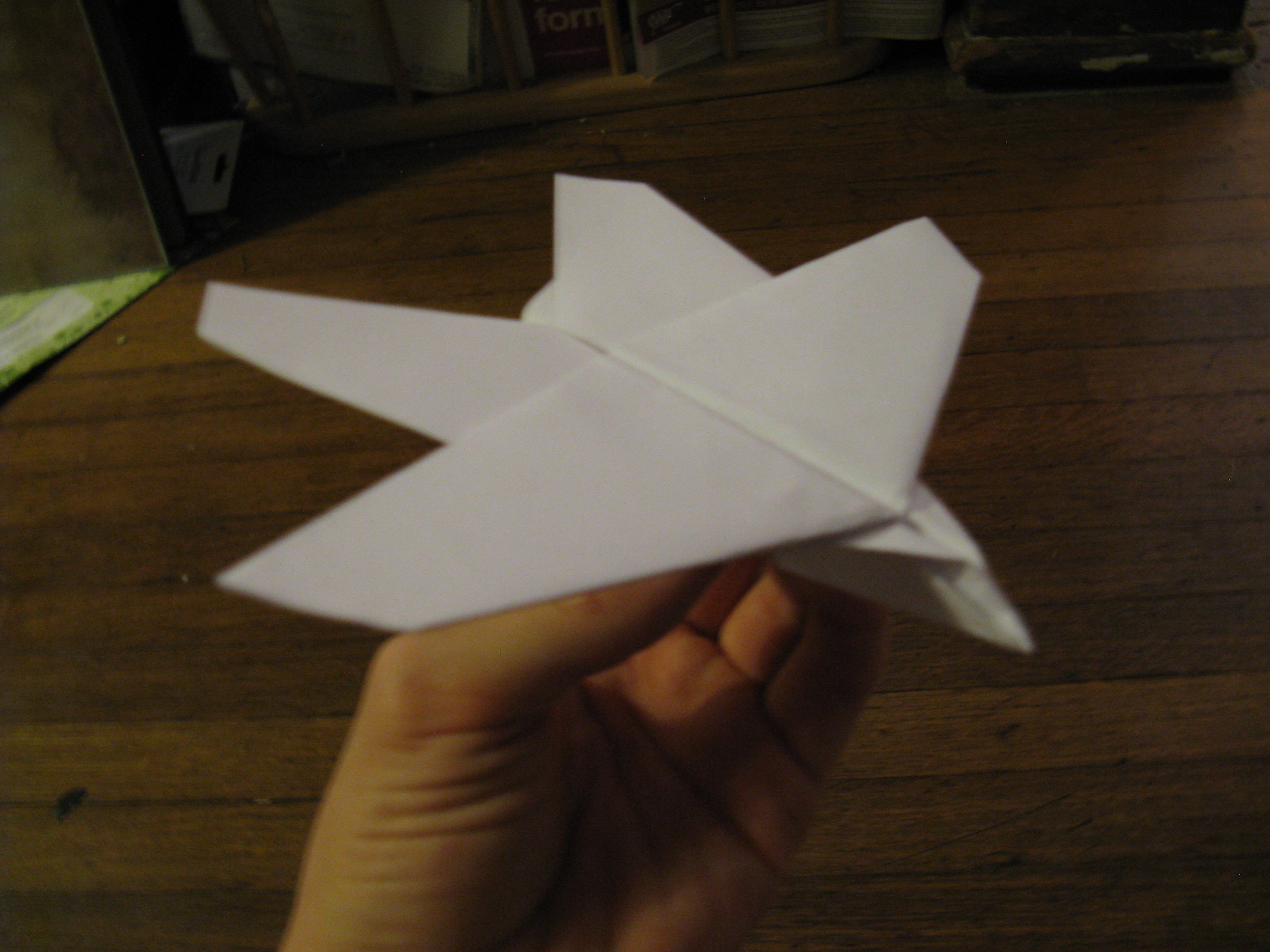 Picture of Paper Plane I Invented #1