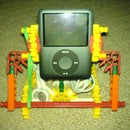 3rd and 2nd generation knex ipod nano stand