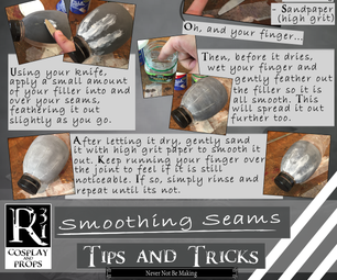Working With Foam: Tips and Tricks - Smoothing Seams