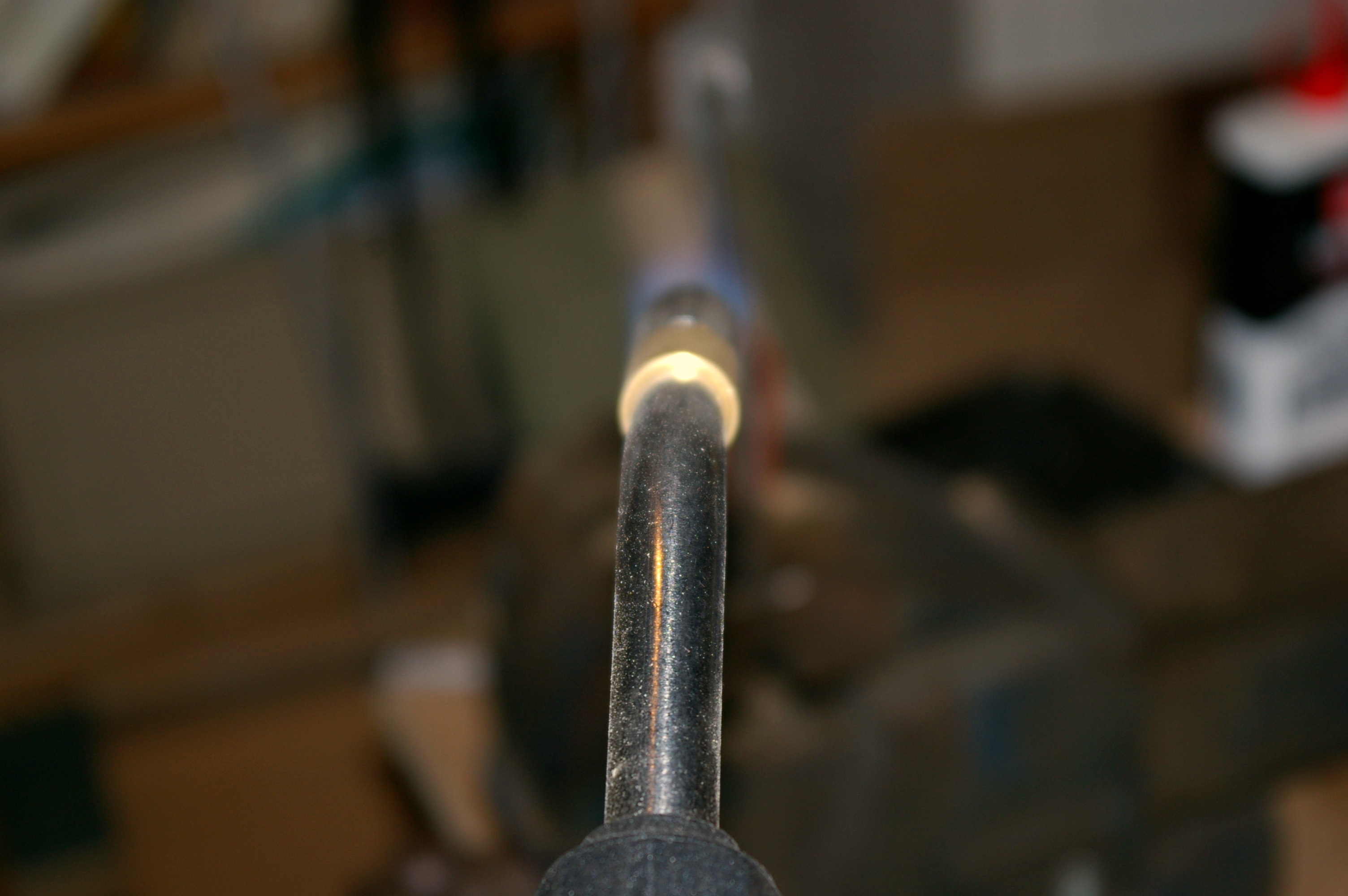 Picture of Solder Wire Onto Brass