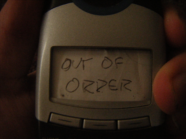 Picture of Out of Order