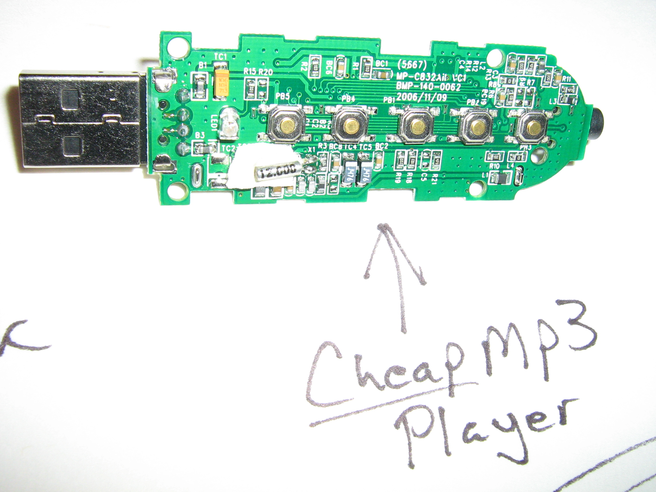 Picture of Stripping the MP3 Player
