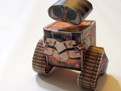 Practice With a Paper WALL-E