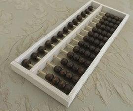 Make You Own Soroban Abacus