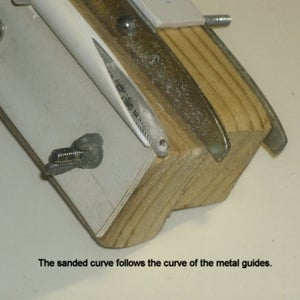 Sanding With a Power Sander